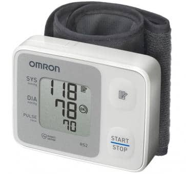 Versandrückläufer OMRON RS2 (HEM-6121-D) Handgelenk-Blutdruckmessgerät