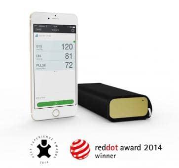 QardioArm A100-IGO gold Oberarm-Blutdruckmessgerät