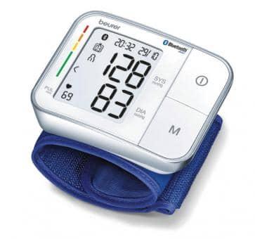 beurer BC 57 Bluetooth Handgelenk-Blutdruckmessgerät