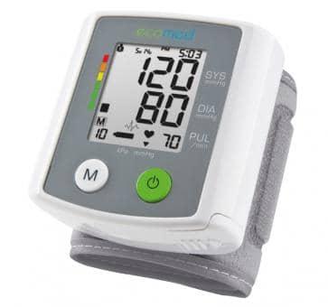 Medisana ecomed BW-80E Handgelenk-Blutdruckmessgerät