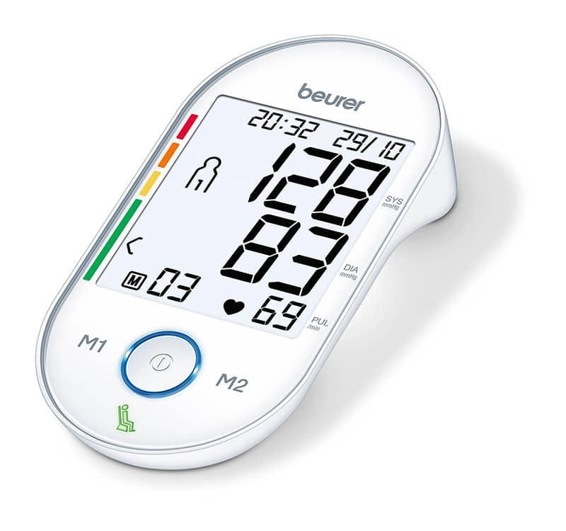 beurer BM 55 Vollautomatisches Oberarm-Blutdruckmessgerät